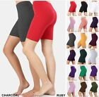 BIKER SHORT Yoga Gym Cotton SPANDEX 1 or 3 Active Wear Leggings Plus Size S-3X;