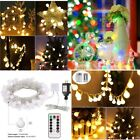 Solar String Lights 200LED Multi Color Outdoor Garden Party