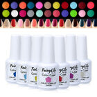 FairyGlo UV LED Soak Off Gel Nail Polish Top and Base Coat M