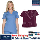 Cherokee Scrubs ORIGINALS Women's Medical Fashion New Mock Wrap Top WW650