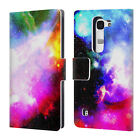 OFFICIAL HAROULITA FANTASY 2 LEATHER BOOK WALLET CASE COVER FOR LG PHONES 2
