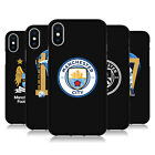 MAN CITY FC VARIOUS DESIGNS BLACK SOFT GEL CASE FOR APPLE iPHONE PHONES