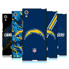 OFFICIAL NFL LOS ANGELES CHARGERS LOGO BLACK SOFT GEL CASE FOR SONY PHONES