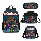Roblox Student School Backpack Insulated Lunch Bag Pencil Case Crossbody Bag Lot