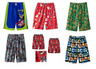 show angry birds - NWT ☀SUPERMAN BATMAN☀ SKYLANDER ANGRY BIRDS TMNT Pajamas Lounge Shorts 4 5 6 7 8