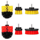 3Pcs Window Floor Carpet Cleaning Drill Brush Tile Grout Power Scrubber US STOCK