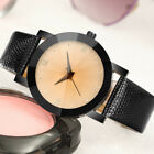 Luxury Women Quartz Business Stainless Steel Dial Leather Band Wrist Watch Gifts