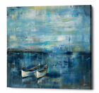 Ebern Designs 'Two Boats' Framed Acrylic Painting Print on Canvas