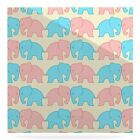 East Urban Home 'Pastel Elephants On Parade' Graphic Art Print on Metal