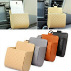 New 1Pc Fashion Car Auto PU Leather Pouch Bag Holder For Mobile Phone