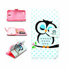 PU Leather Flip Stand Card Wallet Case Cover Skin For Samsung Galaxy S5 V i9600