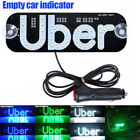 For Uber Taxi Led Sign Light Car Windscreen Rideshare Indicator Lamp Panel Logo