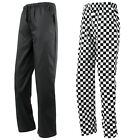 PREMIER ESSENTIAL CHEF'S COOK KITCHEN CATERING TROUSERS XS 3XL 4XL PR553