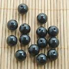 Round Acrylic Crystal Glass Loose Spacer Beads 4/6/8/10mm Jewelry DIY Stone