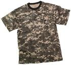 Boys Subdued Urban Digital Camouflage T-Shirt