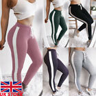 UK Women Sports YOGA Workout Gym Fitness Leggings Pants Ladies Athletic Clothes