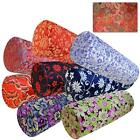 Bolster Cover*Chinese Rayon Brocade Neck Roll Long Tube Yoga Pillow Case*BL13