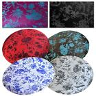 Round Shape Cover*Chinese Rayon Brocade Floor Chair Seat Cushion Case Custom*BL7