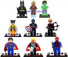 Marvel Avengers Mini Lego Figures:Batman, Wolverine, Spider-man & more.UK Seller