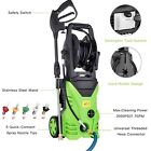 3000 PSI 1.8GPM Power Water Electric Pressure Washer w  Hose Detergent Tank Set