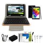 "7"" Android Quad-core Laptop Tablet 8gb Hd Dual Camera Kit Bluetooth Wifi Us Lot"