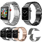 Stainless Steel Wrist Band Bracelet Clasp For Apple Watch 3/2/1 38mm 42mm image