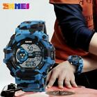Camouflage Men Sport Watches Outdoor Waterproof Military Style Wristwatch