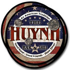 Huynh Family Name Drink Coasters - 4pcs - Wine Beer Coffee & Bar Designs