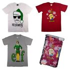 Christmas T-shirts Choose From Elf Minions Or Breaking Bad Fun Festive Tops