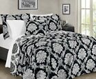 Sterling Creek Athen 3-Piece Chenille Jacquard Medallion Floral Coverlet Set image