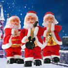 Electric Santa Claus Doll Play Music Ornaments For Christmas Home Decoration