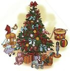 Christmas Tree Red Ribbon Toys Select-A-Size Waterslide Ceramic Decals Bx image