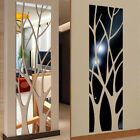 Modern Tree Mirror Removable Decal Art Mural Wall Sticker Home Room Diy Decor