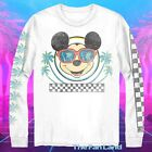 New Mickey Mouse Retro Sleeve Vintage Classic Mens T-shirt