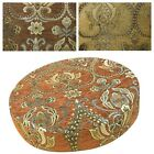 """2""""Thick-Round Box Shape Cover *Damask Chenille Chair Seat Cushion Case*Wk3"""