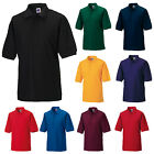 RUSSELL MENS SHORT SLEEVE POLYCOTTON PIQUE POLO SHIRT XS-6XL 539M