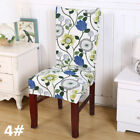 Dining Chair Covers 1/4/6/8/10Pcs Wedding Party Home Seat Covers Stretch Spandex