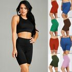 Plus Size Biker Shorts 1-6 LOT COTTON SPANDEX ACTIVE YOGA LEGGING BERMUDA 1X-3X