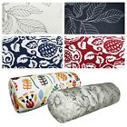 Bolster Cover*A-Grade Cotton Canvas Neck Roll Tube Yoga Massage Pillow Case*Lf1