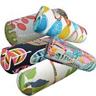 Bolster Cover*A-Grade Cotton Canvas Neck Roll Tube Yoga Massage Pillow Case*Lf3