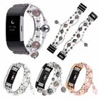 Fitbit Charge 3 Jewelry Pearl Beaded Elastic Stretch Strap Replacement Band US image