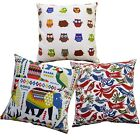 Pillow Cover*A-Grade Cotton Canvas Sofa Seat Pad Cushion Case Custom Size*LL7