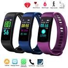 Sports Waterproof Fitness Activity Tracker Smart Watch With Heart Rate Monitor