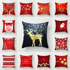 Внешний вид - Christmas Santa Elk Snowflake Throw Pillows Cushion Cover Case Home Sofa Decor