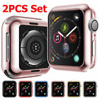 2PCS Protective Watch Case Skin Cover Screen for Apple Watch Serie 4 40mm 44mm image