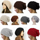 Summer Spring Winter Slouch Ski Crochet Knit Slouchy Beanie Beret Hat For Women