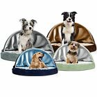 Archie & Oscar Charlotte Snuggly Cave Hooded Dog Bed