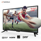 Top Holiday Gifts SANSUI HD LED 720P 1080P TV HDTV 60Hz Brand NEW
