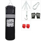 Kyпить Heavy Boxing Punching Bag Training W/ Gloves Bandages Kicking MMA Workout Empty на еВаy.соm