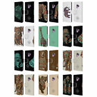BIOWORKZ COLOURED WILDLIFE 1 LEATHER BOOK WALLET CASE COVER FOR SAMSUNG PHONES 1